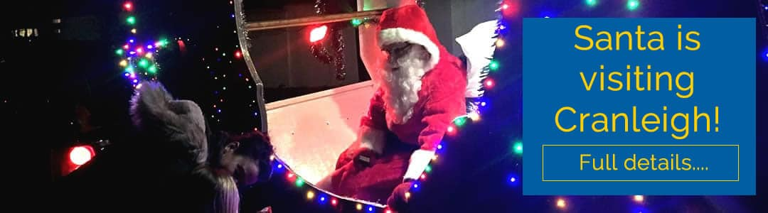 Santa is coming to Cranleigh!